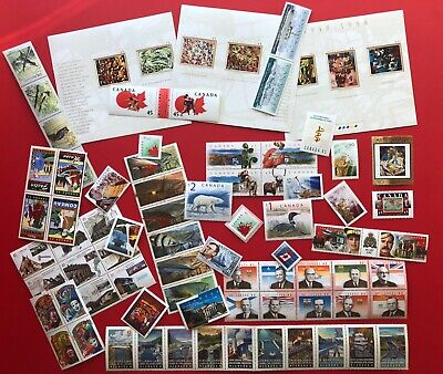 Canada 1998 Postage Stamps - Complete Year Annual Collection Stamp - Free Ship
