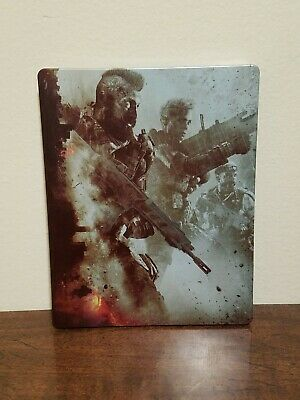 Call Of Duty Black Ops 4 SteelBook Case PS4 *No Game Disc*