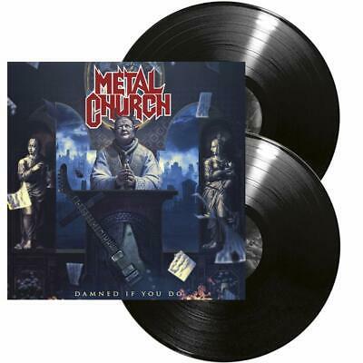 Metal Church - Damned If You Do  2 Vinyl Lp New+
