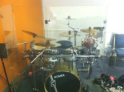 Six Panel Drum Shield 2ftX5ft / 5ft Tall