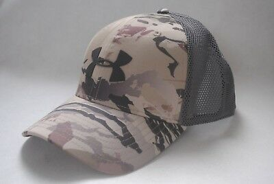 f27e4d10aac New Under Armour Mesh 2.0 Cap Men s Hunting UA Barren Camo hat 1300473
