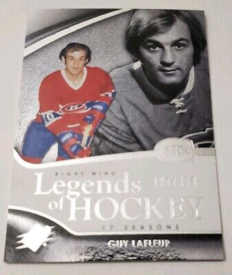 2011/12 Upper Deck SPX Legends Of Hockey SP /499 Guy Lafleur Montreal Canadiens