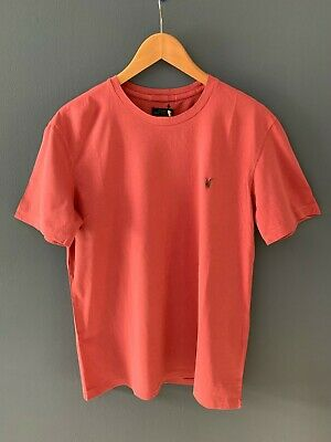 Mens All Saints Maul Tonic striped crew T Shirt size xxl .New with tags.£40