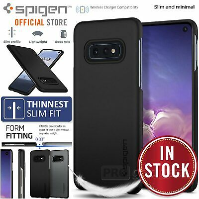 Galaxy S10e Case, Genuine SPIGEN Ultra Thin Fit Exact Slim Cover for Samsung