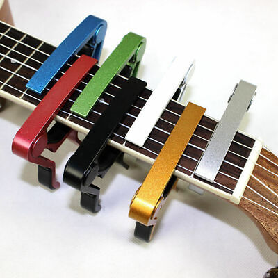 Advanced Guitar Capo Quick Change Tune Clamp Acoustic Electric Classic Guitar BT