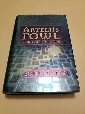Artemis Fowel: The Eternity Code By Eoin Colfer (2001, Hardcover) First Edition