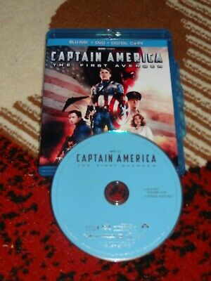 Blu-ray Captain America: The First Avenger 1 disc only MINT NEVER WATCHED