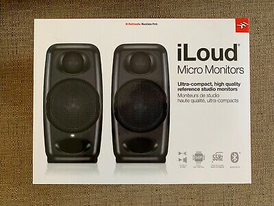 IK Multimedia - iLoud Micro Monitors - Perfect Condition - With Carry Bag
