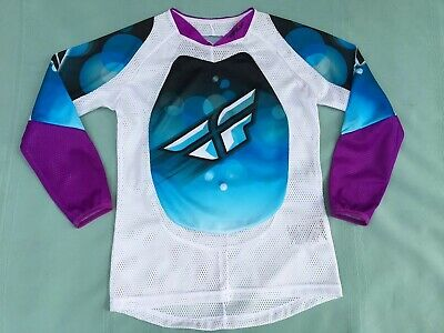 FLY Racing Off Road Dirt Bike Jersey Girl's Size Youth L