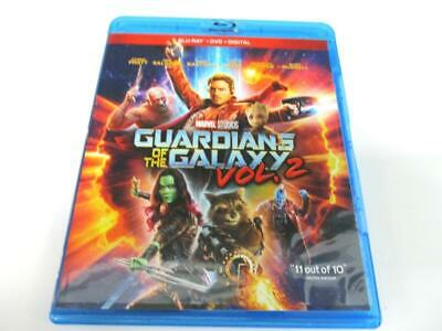 Guardians of the Galaxy Vol. 2 (Blu-ray, 2017) Single Disc + Cover Art NO CASE