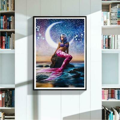 5D DIY Full Drill Diamond Painting Beauty Cross Stitch Embroidery For Home