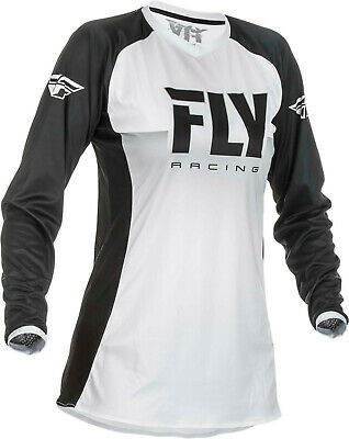 Fly Racing 2019 Women's Lite Racewear Jersey - White/Black