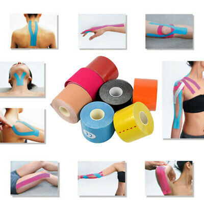 5CM*5M Elastic Kinesiology Sports Tape Muscle Pain Physio Care Therapeutic Roll