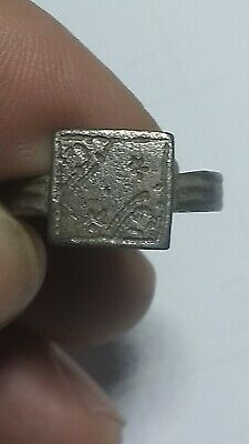 BYZANTINE Bronze RING circa 10th -13th century A.D. Very Low Priced