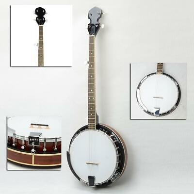 New High Quality Professional Sapele Wood Metal 5-string Banjo