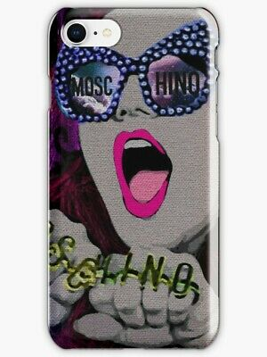 new arrival e49a4 ff131 MOSCHINO CASE, MOSCHINO for iPhone X S 6 7 S 8 Plus Case/Cover