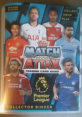 Match Attax 2018/9 - 10 base cards