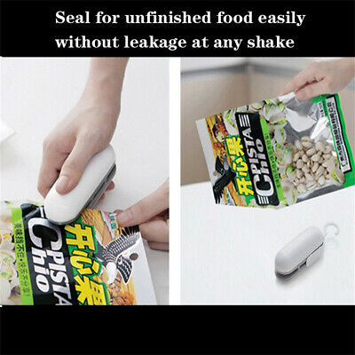 Mini Heat Sealing Machine Portable Impulse Food Packing Plastic Bag Sealer Tools