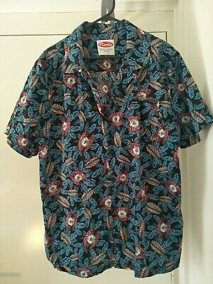 Vintage Mambo Men's Button Up Shirt L