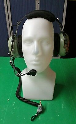 Helicopter Casque David Clark h10-66 aviation pilote
