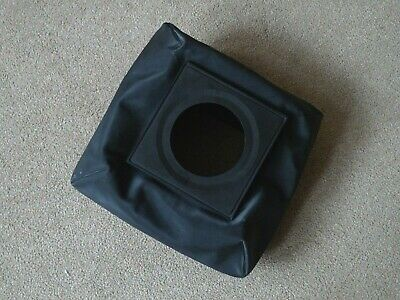Genuine Sinar Norma 4x5 wide angle bag bellows also fits Sinar P, P2, F, F1. F2