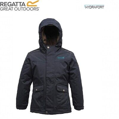 Regatta Girls AKELA Waterproof Hooded Jacket / Coat
