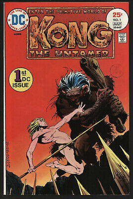 Kong The Untamed #1 Jul 1975 Bernie Wrightson Cover