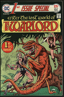 FIRST ISSUE SPECIAL #8 1st APPEARANCE OF WARLORD. MIKE GRELL ART