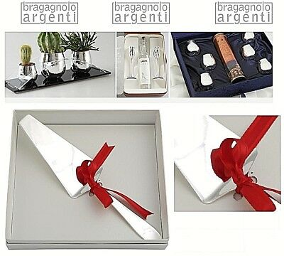 SHOVEL CAKE DOLCE ENGLISH MADE in ITALY Cm.29 silver 999% MULTI-LAYER XM307AG
