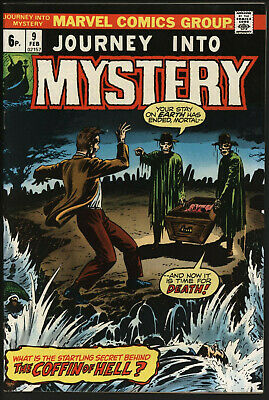 Journey Into Mystery #9 Feb 1974 White Pages Very Glossy Cover