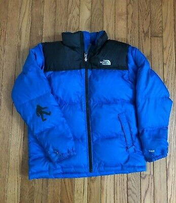 be2a9a894 THE NORTH FACE Big Boys Reversible Moondoggy Down Jacket Size L/14 ...