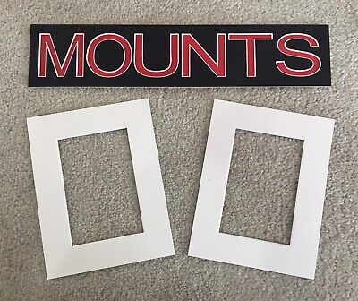 Pack of 10 Photo , Picture Mount , Frame Mounts - Various Sizes - Polar White