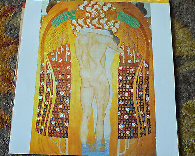 Gustav Klimt Poster Print- Heres A Kiss To The Whole World