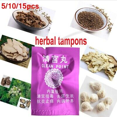 Detox Hygiene Health Care Product Body Relax Pain Relieve Chinese Herbal Tampon