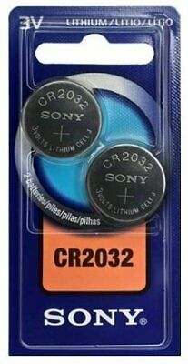 Sony CR2032 3V Lithium Coin Cell Battery DL2032 2032 Longest Use By Date