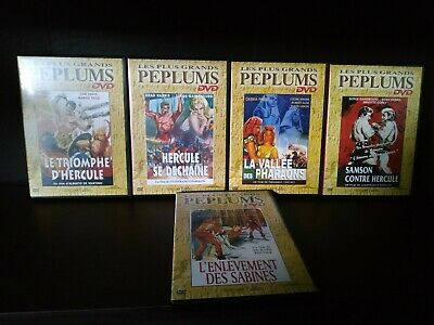 Lot 5 DVD - Collection : Les plus grands péplums -