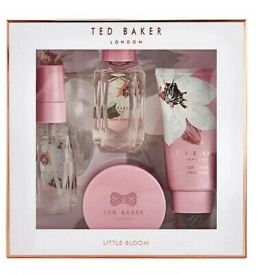 Ted Baker  LITTLE BLOOM  Luxuries Mini Beauty Box Gift Set Pink Gift Rose