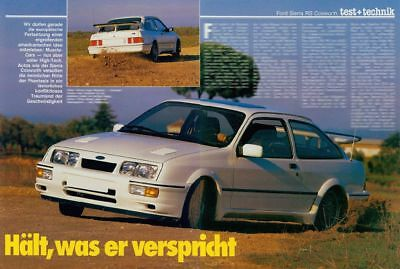 FORD Sierra RS Cosworth (4 Seiten) [066]