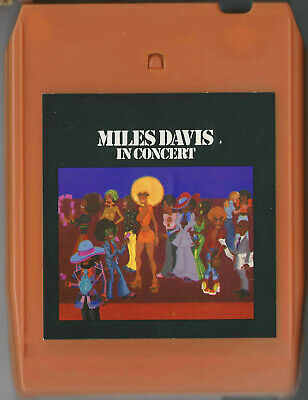 Vintage Miles Davis IN CONCERT Columbia 8-Track Stereo Tape 1973 New Pads NICE