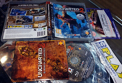 Uncharted 2 Pal España Ps3 Playstation 3 Completo Buen Estado Naughty Dog