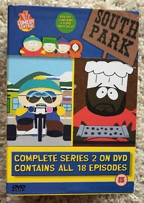 South Park - Series 2 (DVD, 2001, Box Set)