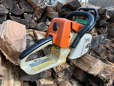Stihl Chainsaw Ms 260 18 Works Starts Easy 215 00 Picclick