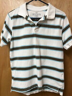 60962a8fd FADED GLORY BOYS Short Sleeve striped polo - $7.25 | PicClick