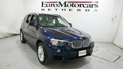 2016 BMW X3 xDrive28i bmw x 3 x3 xdrive 28i xdrive28i awd suv used navy blue 15 17 leather navigation
