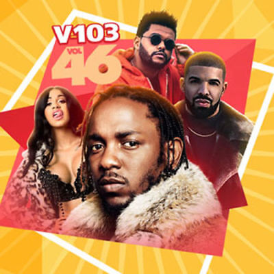 V 103 vol. 46 Feb 2018 Various Artist Artwork CD Mixtape Album PA R&B RAP HIP