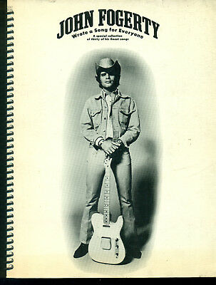 John Fogerty Wrote a Song for Everyone songbook Creedence Clearwater music book