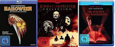 6x Best of John Carpenter - Horror Halloween the Fog They Leben Vampire Blu-Ray