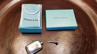 Vintage Tiffany & Co Sterling Silver Miniature Scent Perfume Bottle