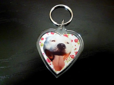 Keyring Staffordshire Bull Terrier Gift Staffie Birthday Gift Stocking Filler