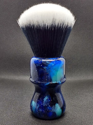Yaqi 26mm  Mysterious Space Color Handle Tuxedo Knot Shaving Brush